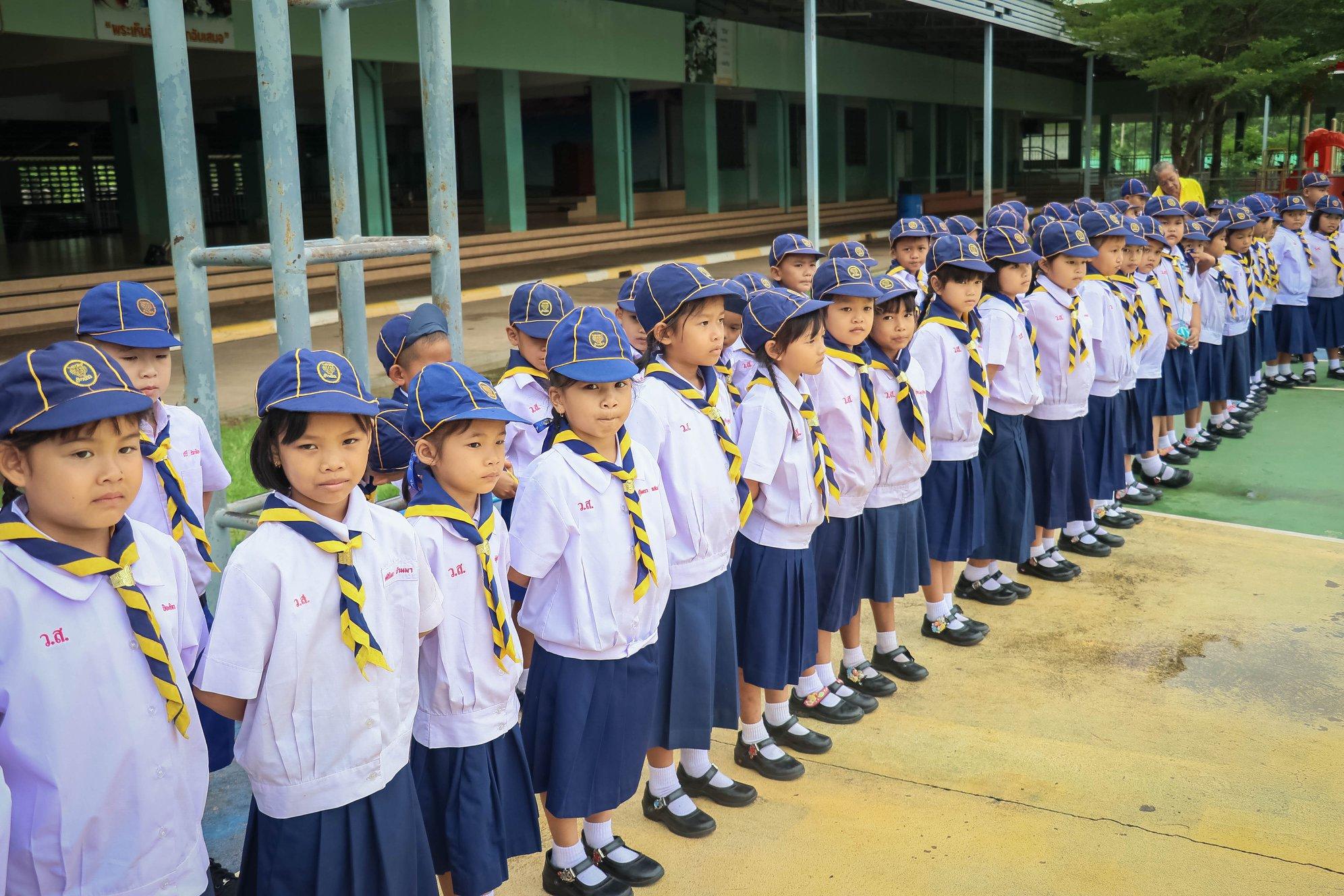 เปิดกองลูกเสือสำรอง ปีการศึกษา 2562